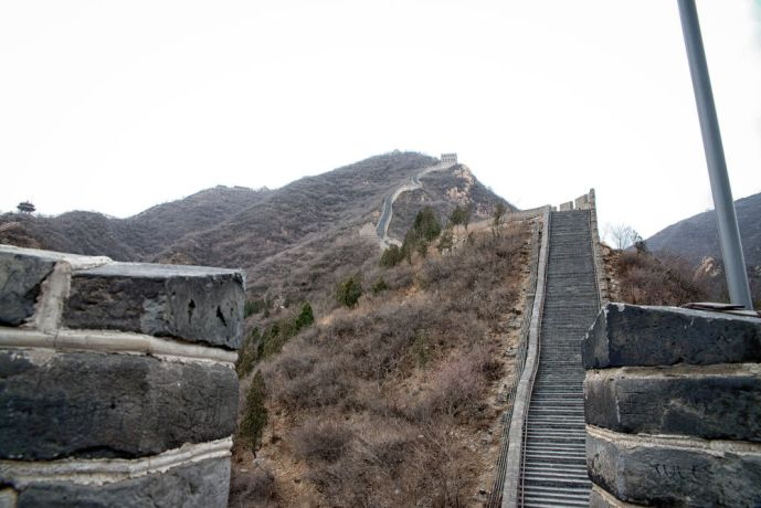 China: Great Wall of China, north of Beijing. More Info
