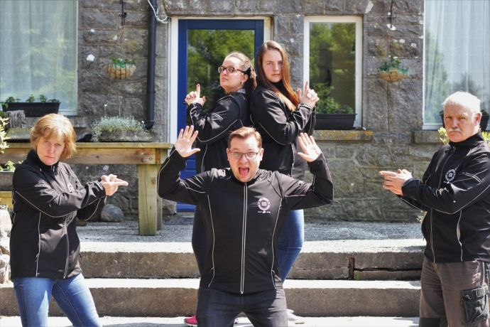 Ireland: OM Ireland sent six current and former staff members to the Riverboat, and five of them recently reunited at OM Irelands headquarters. More Info