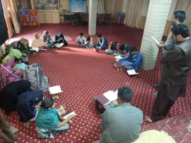 Pakistan: Young people gather to study the Bible. More Info