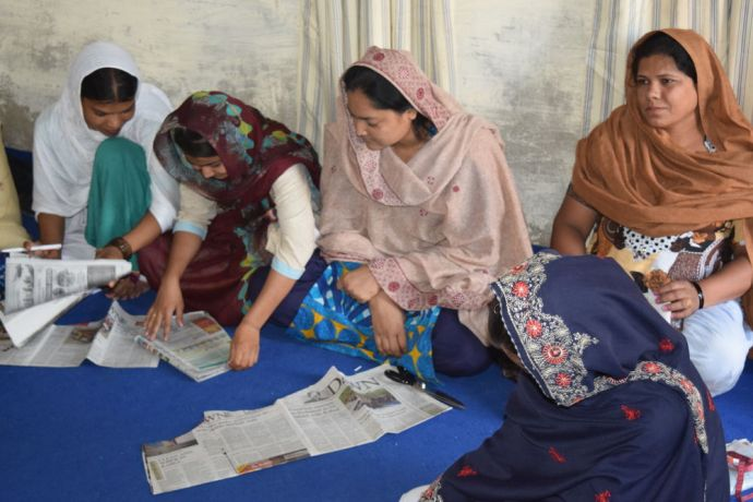 Pakistan: At OMs vocational training centre, women not only learn a valuable skill but also join a movement to lift up women and their communities. More Info