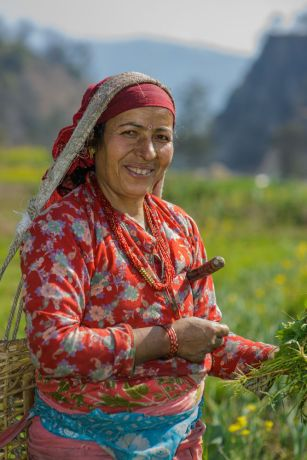 South Asia: Portraits of Nepali women from various regions in Nepal.  Photo by Garrett N More Info