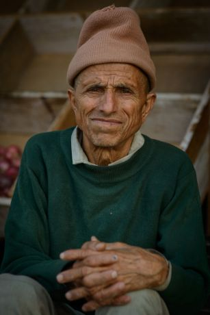 Nepal: Portraits of Nepali men in remote villages of Nepal. More Info