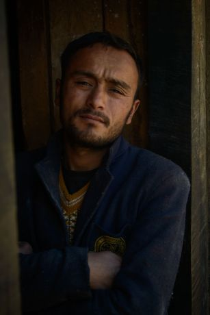 South Asia: Portraits of Nepali men in remote villages of Nepal. More Info