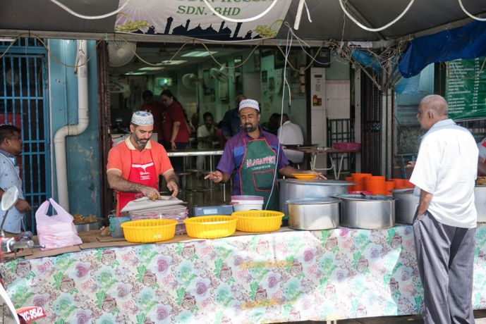 Malaysia: Markets for Ramadhan have different food and are not designed for you to eat right away, but to take a package of food home for when you can break fast. More Info