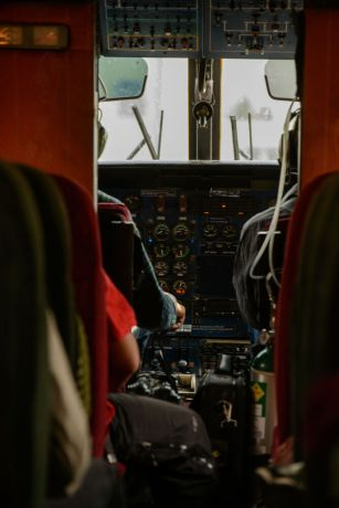Nepal: Flying to remote villages in Nepal. More Info
