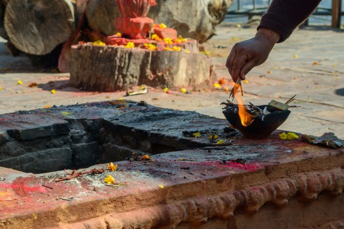 Nepal: A local temple in Nepal. More Info