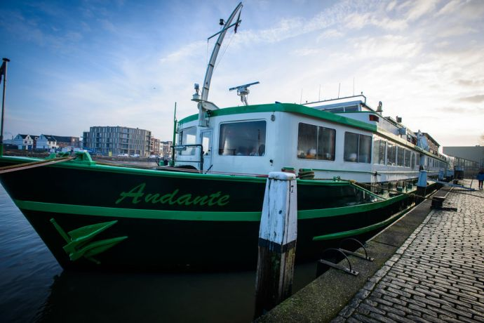 Netherlands: The river boat docked in Delft, Netherlands.  Photo by Garrett N More Info