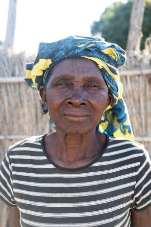 Mozambique: A woman poses for a photo in northern Mozambique. More Info