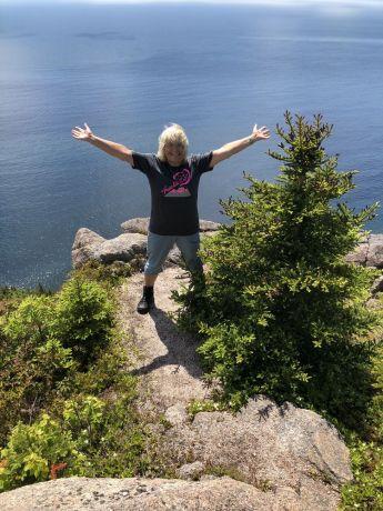 Canada: participant of the freedom challenge in cape breton canada – Photo by Ramona Glieg More Info