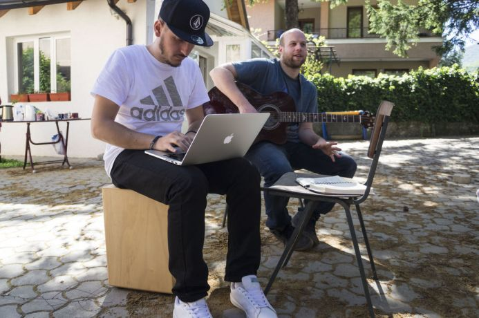 Kosovo: Workshop participants are focused on writing new worship songs on Albanian language. More Info
