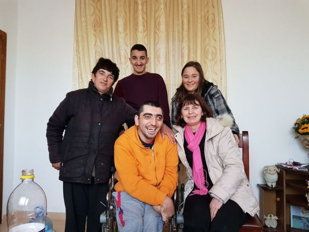 Albania: OMer and a local church member visit an Albanian family who has a special needs family member. More Info
