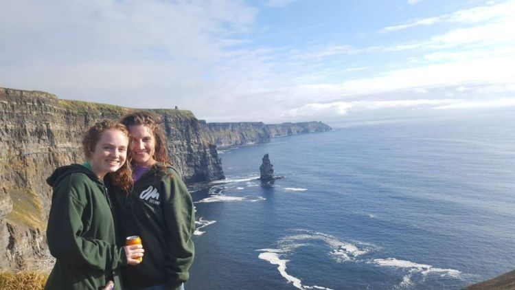 Ireland: Mother-Daughter duo Brandy and Alexia came to Ireland for a two-week outreach called Impact Ireland. Both came away impacted as much as theyd impacted others. More Info