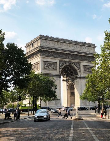 France: A stunning monument in Paris built in 1806, situated on the Champs-Élysées. More Info