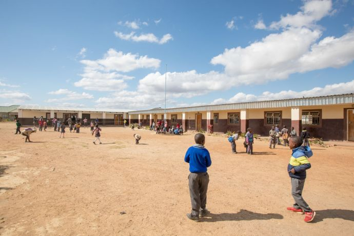 Zambia: A typical school day at Makwati School in Kabwe, Zambia. The school provides Christ-centred education to the children in Makwati compound and is the only school in the compound. More Info