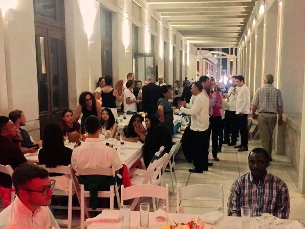 Mexico: Progreso, Mexico :: Crewmembers enjoy a reception held by the mayor of Progreso. More Info
