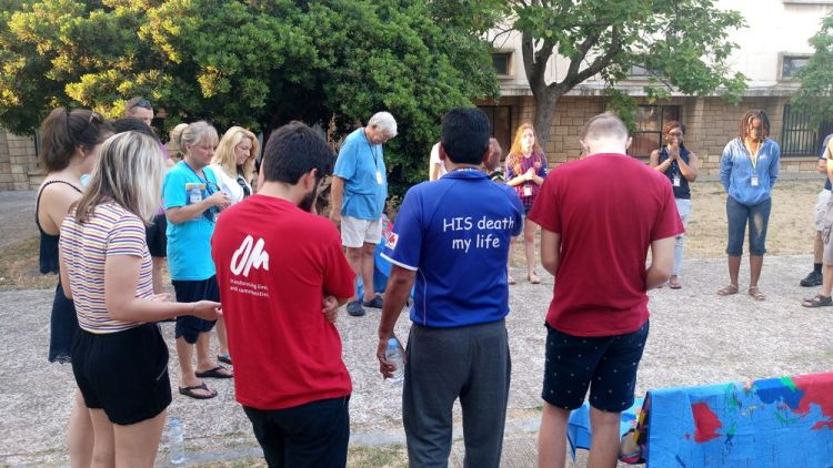 Spain: Early morning prayer meeting at Transform 2018. More Info
