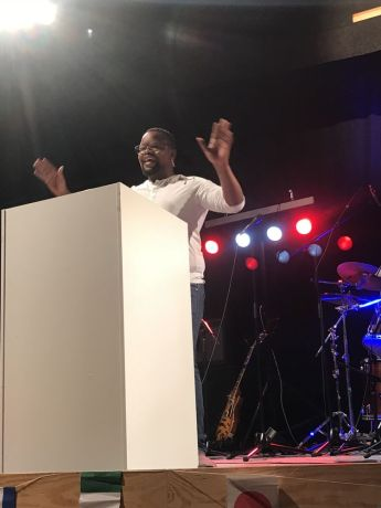 Spain: Transform Director Mpumi Maweni (South Africa) encourages the participants to follow Gods call. More Info
