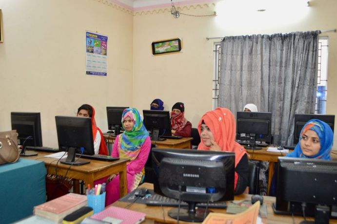 """Bangladesh: """"We take computer classes for gaining knowledge and for getting jobs. Computers are used for everything now,"""" one student says in this computer training programme in Bangladesh. Skills training opens doors for relationship building and sharing truth with students. More Info"""