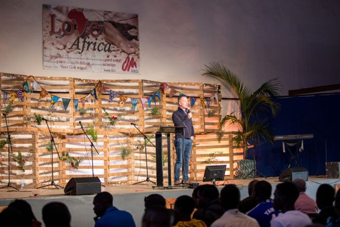 Zambia: Love Africa is an annual gathering of people from all over the world to worship God together, hear challenging messages and inspiring testimonies from missionaries in the field. More Info