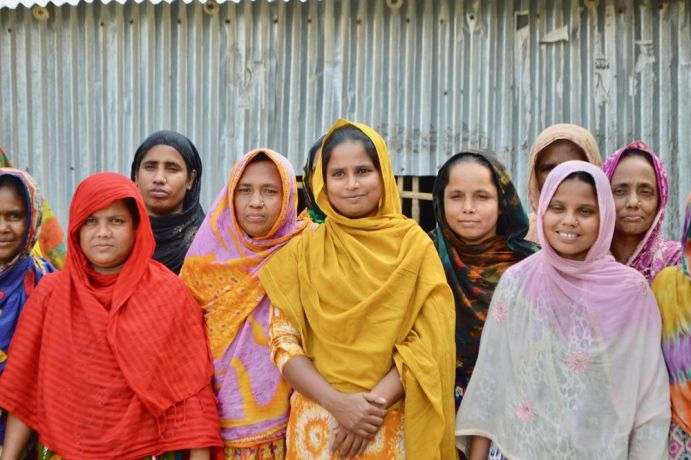 "Bangladesh: ""We couldn't read our children's school papers before but now that we are learning to read, we can help them,"" women's literacy programme students say when asked why they are studying in a village school in Bangladesh. More Info"
