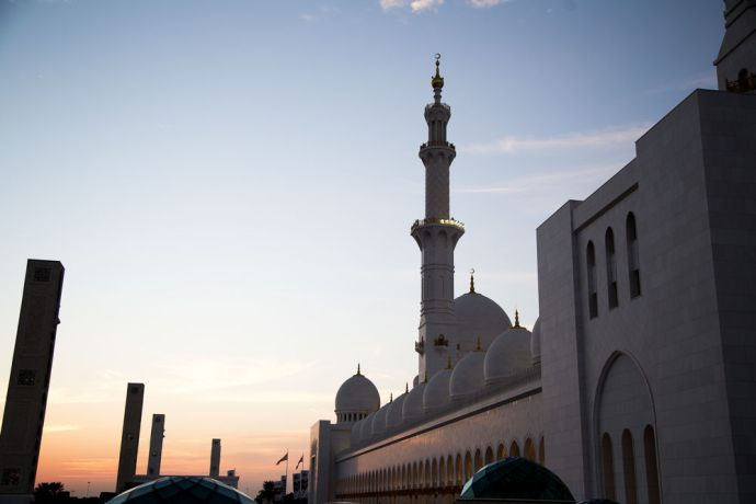 Arabian Peninsula: The call to prayer from the mosque serves as a reminder to the Christian to pray for neighbors in the Arabian Peninsula.  Photo by Josiah Potter More Info
