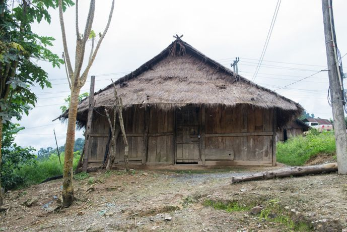 Laos: Traditional home in the mountains. More Info
