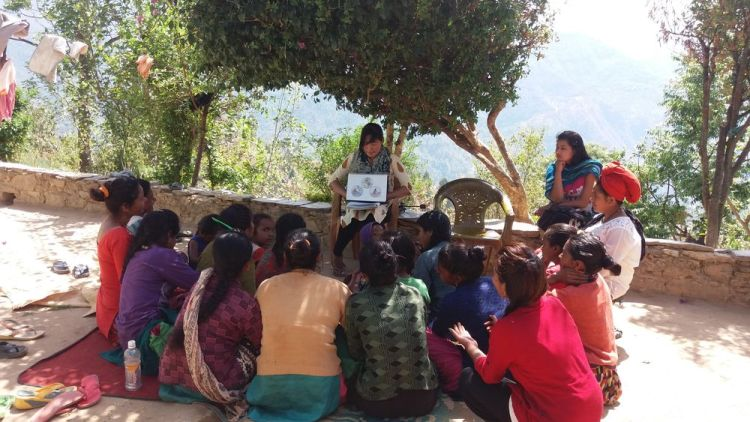 South Asia: OM team leads health and sanitation classes for local women in a rural village in South Asia. More Info