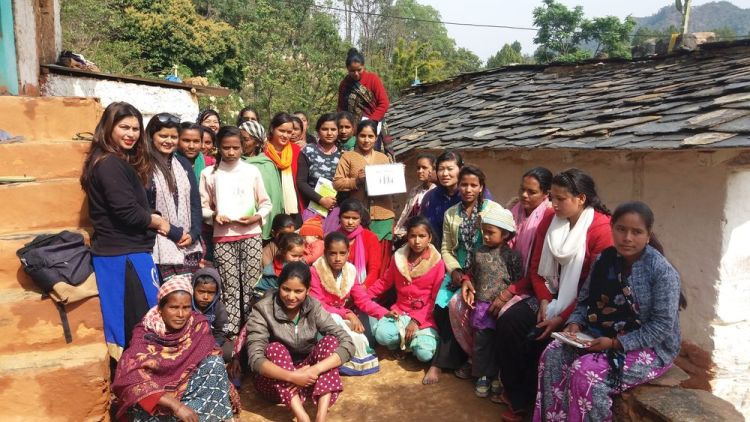 South Asia: OM team completed a course on the healthy family with a group of local women in a remote village More Info