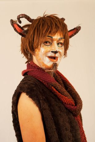 Panama: Balboa, Panama :: Janina Betz (Germany) plays the character of Mr Tumnus in an onstage version of the Lion, Witch and the Wardrobe. More Info