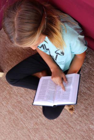 Ukraine: A quiet place at camp LELA to pray, Odessa Ukraine More Info