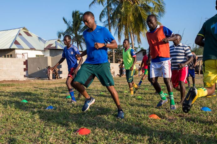 Tanzania: Sports Ministry in a village in Tanzania. More Info
