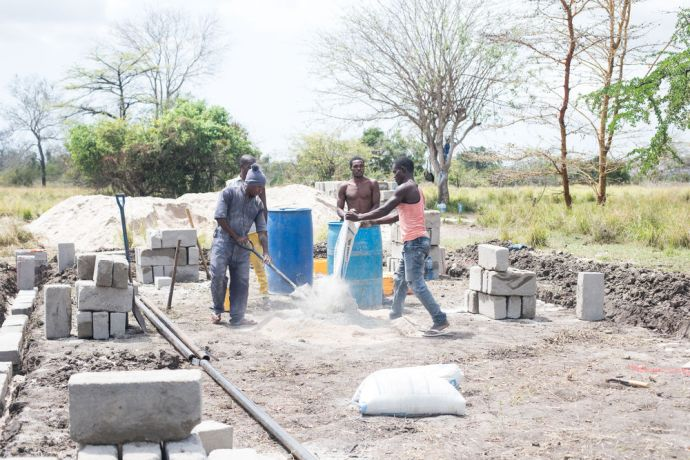 Tanzania: An outreach works to build a church in Matipwili, a village in Tanzania. More Info
