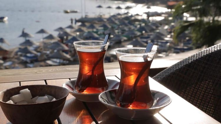 Turkey: Conversation and drinking tea go together. More Info