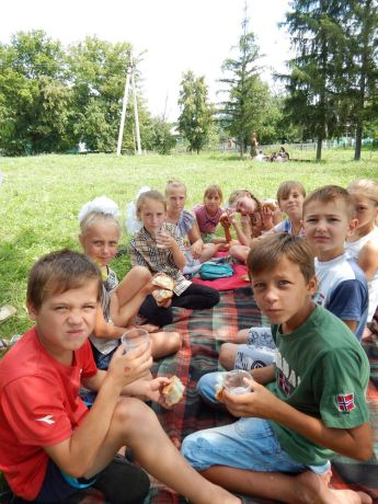 Ukraine: Serving village children in Vinnitsa province Ukraine with Spritual and physical bread and water More Info