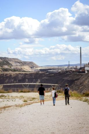 International: View of Bor copper mine, Serbia.  Please pray for local believers as they seek to share their faith among Roma in the area of Bor, Eastern Serbia.  We saw how our literature is being used to strengthen small numbers of believers and equip them to share the gospel in their area, shared an OM EAST worker. More Info