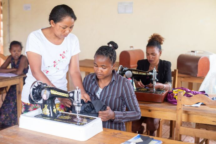 Madagascar: Perla is a Freedom Challenge project in Madagascar that teaches women skills that will help them become self-sustainable. More Info
