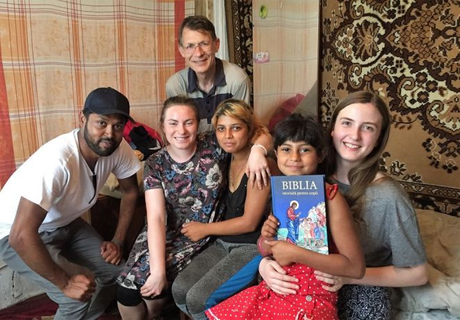 Moldova: When an outreach team visited a Roma lady and her daughter, they found out the girl had met Jesus in a dream a few days earlier and was now very eager to hear more about him. More Info