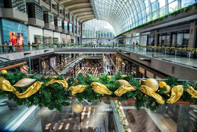Singapore: Christmas Decorations are found all over in malls and city hubs in Singapore, with Christmas being highly commercialized. More Info
