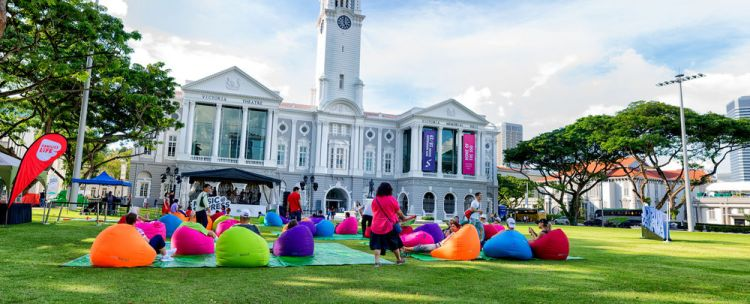 Singapore: Small family music festival in the heart of Singapore. More Info