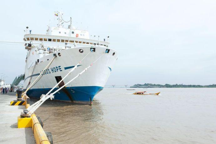 Ecuador: Guayaquil, Ecuador :: Logos Hope in port. More Info