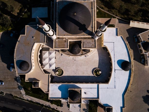 Montenegro: Aerial images of mosques in Montenegro.  Photo by Garrett N More Info