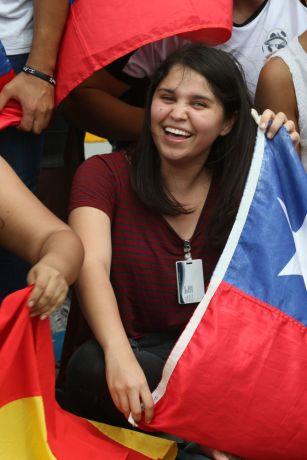 Ecuador: Guayaquil, Ecuador :: Vale Pereira (Chile) celebrates Christmas day with other Latinos. More Info