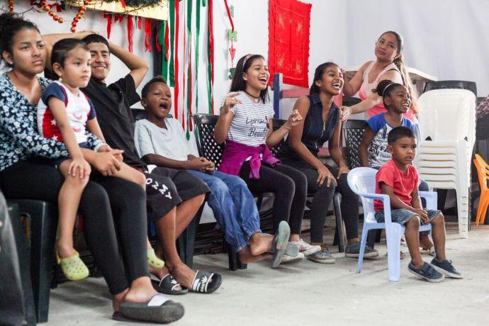 Ecuador: Guayaquil, Ecuador :: Children interact during a program run by a team from Logos Hope. More Info
