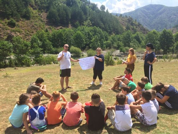 Albania: The travelling discipleship group (Journey to the North) leads a kids camp in mountainous northern Albania. More Info