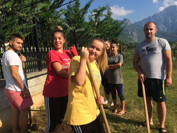 Albania: The travelling discipleship group (Journey to the North) helps a local ministry in practical work in mountainous northern Albania. More Info