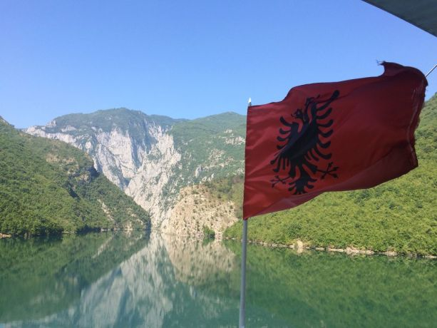 Albania: The participants of Journey to the North (a travelling discipleship ministry) experienced this beauty from a ferry after ministering with two local churches in northern Albania. More Info