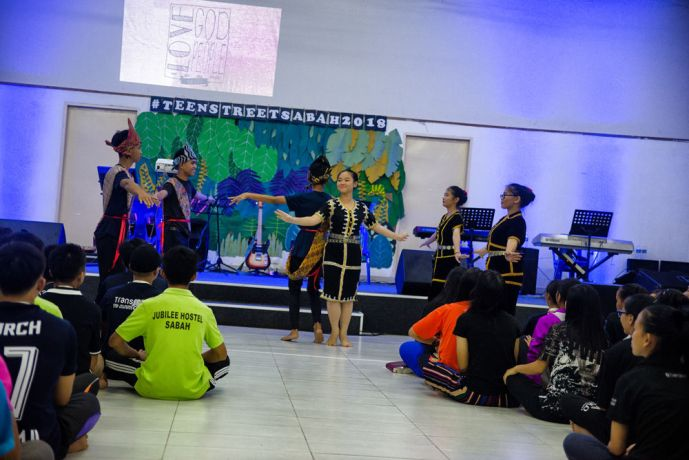 Malaysia: TeenStreet in Sabah, Malaysia. More Info