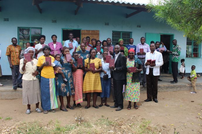 Zimbabwe: Church leaders receive bibles after a workshop on church planting in rural Zimbabwe More Info