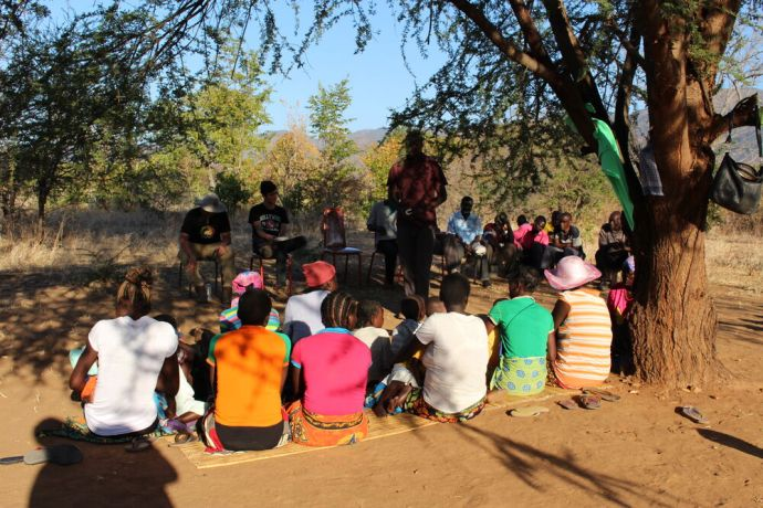 Zimbabwe: In rural areas, people walk tens of kilometers to attend church. They dont travel these many kilometers so they could meet in a cathedral but only to congregate under trees or at a homestead. More Info