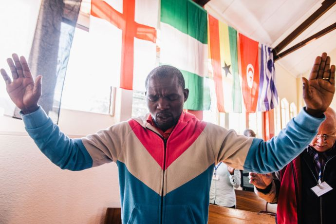 Zimbabwe: GO Challenge participant prays for the nations. More Info
